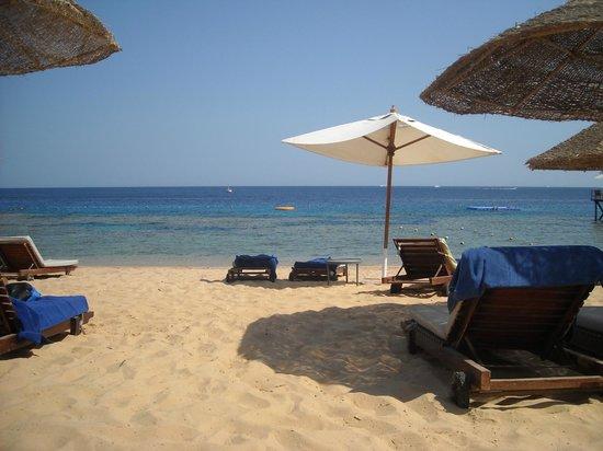 Hyatt Regency Sharm El Sheikh Resort: la spiaggia privata