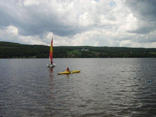 Pohenegamook Sante Plein Air 2.0 : Kayak