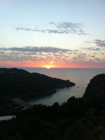 San Montano Resort & SPA: Sunset from one of the many terraces
