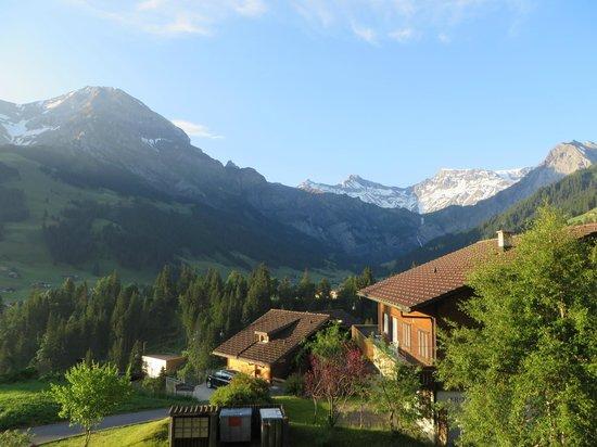 Hotel Steinmattli: Uitzicht vanaf ons balkon