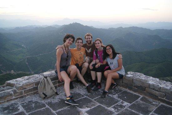 Dongpo Inn : la bande des 5 sur la grande muraille