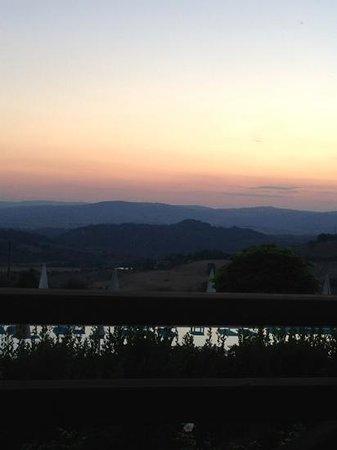 Saturnia Tuscany Hotel: il tramonto