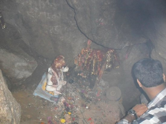 Mahakal Temple: The Mahakal Cave (Inside)