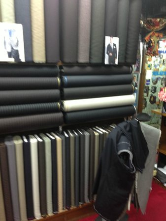 Rajawongse Clothier : Amazing selection of fine fabrics