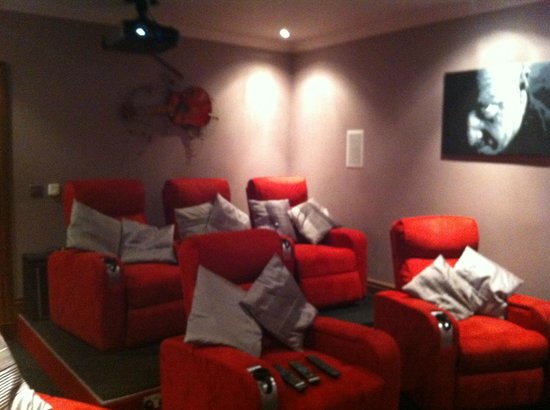 Backbrae House: Cinema room