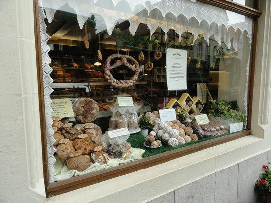 Roter Hahn Rothenburg: Guloseimas alemãs
