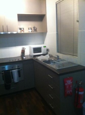 Apartments of South Yarra: small kitchenette
