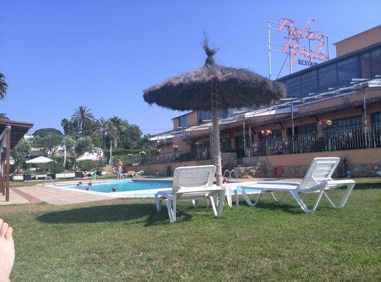 Bungalows Papalus: Poolområde