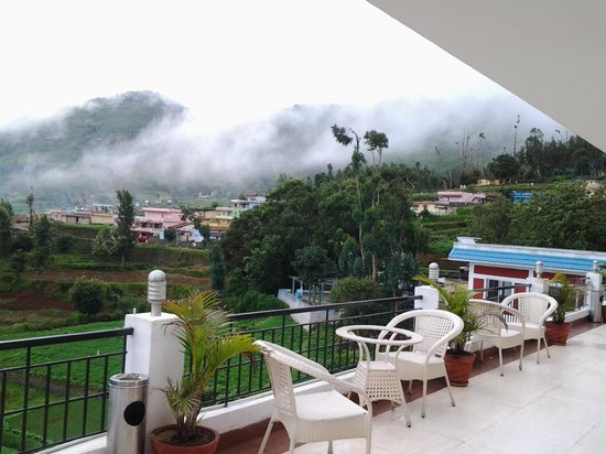 Mount 'n' Mist: View from room