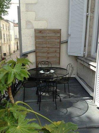 Hotel de la Paix: la terrasse