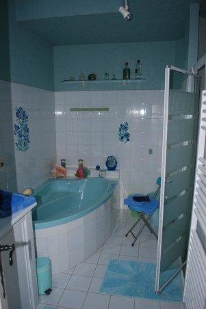Les Cathelinettes: une partie de la salle de bain
