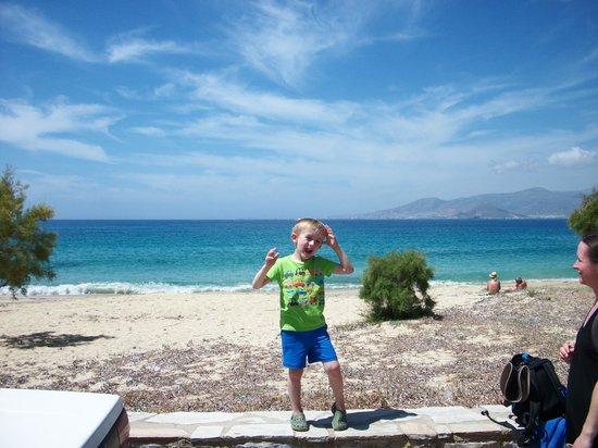 Agios Prokopios Hotel: AGIOS PROKOPIOS BEACH