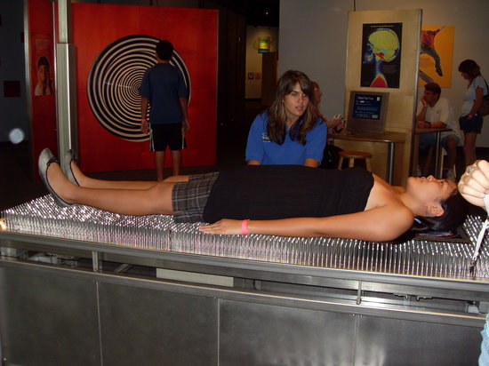 Maryland Science Center: Bed of nails