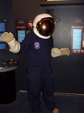 Maryland Science Center: Be an astronaut