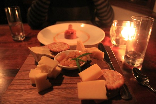 Grootbos Private Nature Reserve: Delicious cheese board