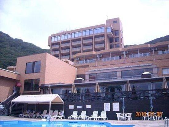Kamogawa Hills Resort Hotel: プールサイドから