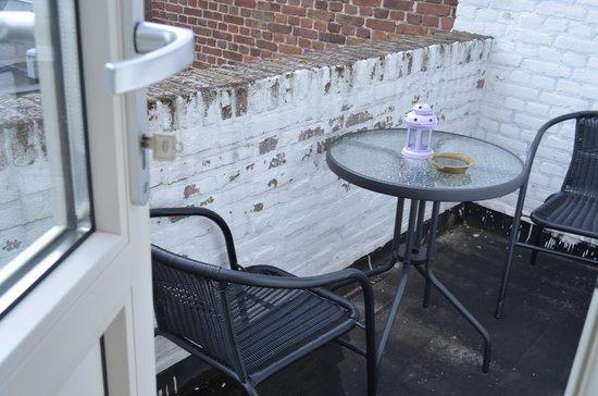 Hotel Port : het balkonetje