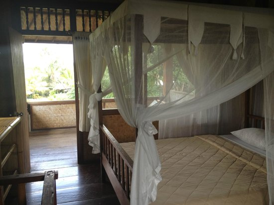 Gerebig Bungalows: la chambre au 1er étage du bungalow