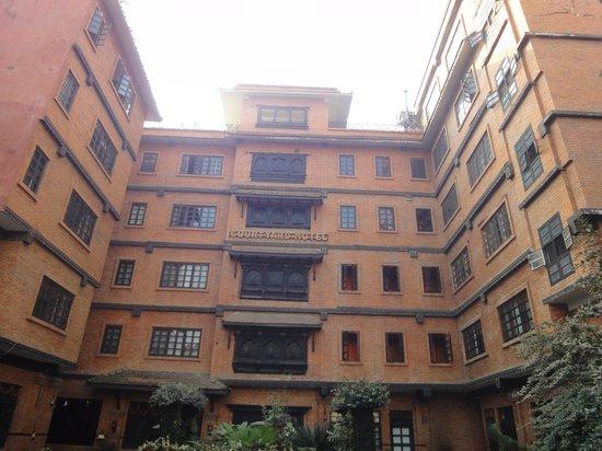 Hotel Courtyard : ホテルの正面です