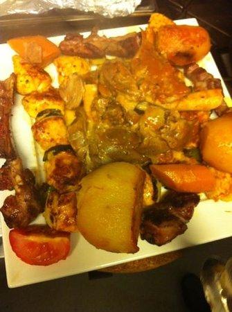 Real Barbecue and Bar: Keleftiko, Chicken, Lamb ribs