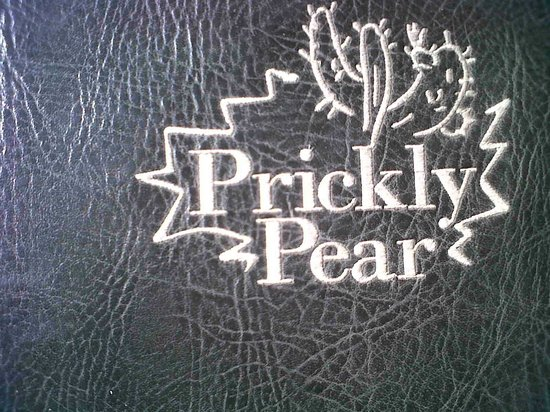 Prickly Pear : The cushions on the outside seats