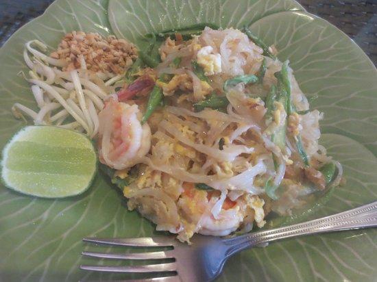 Pai Sukhothai: Phad Thai shrimp