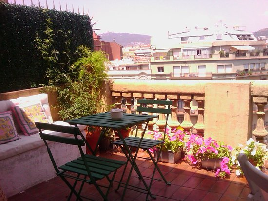 Ana's Guest House B&B: the most favorable and enjoyable place - the terrace