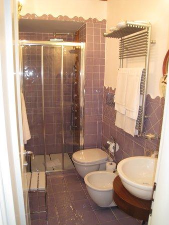 Hotel Botanico San Lazzaro: наша ванная комната