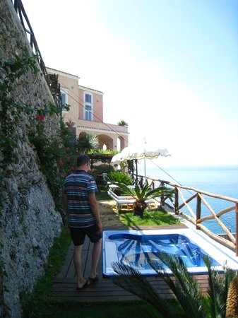 Hotel Botanico San Lazzaro: Одна из террас для отдыха