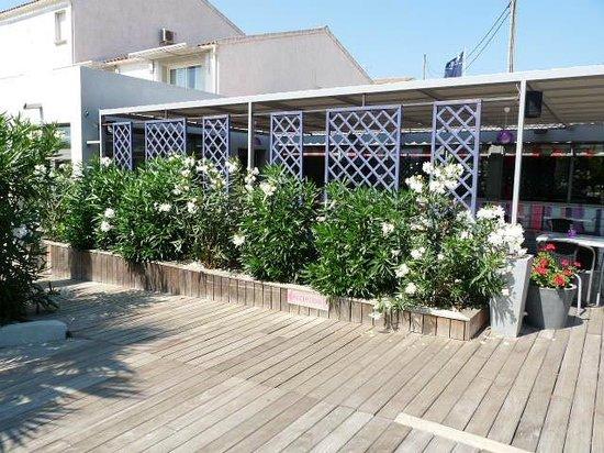 Golfe Hotel : la terrasse