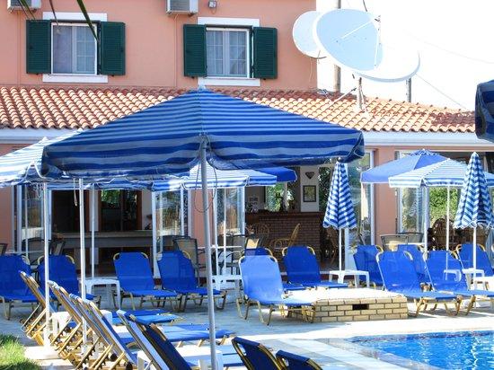 Theodosia: pool area