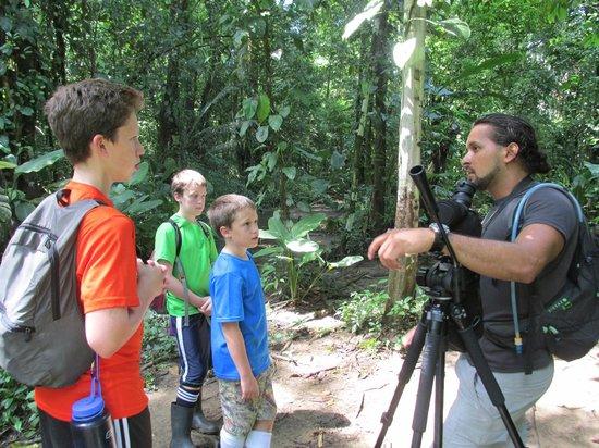 Drake Bay, Kostaryka: A teaching moment.