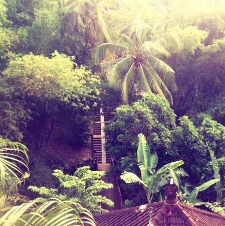 Grya Sari - the Bali Hot Springs Hotel: toegang tot Grya Sari