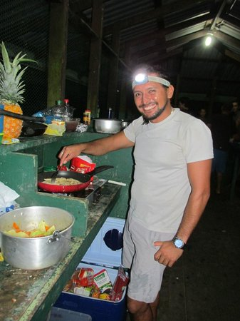 Drake Bay, Costa Rica: Excellent cook.