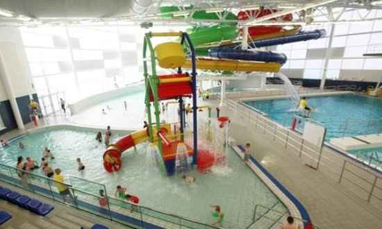 Easy Medium Hard Flumes Picture Of New Olympia Centre Dundee Tripadvisor