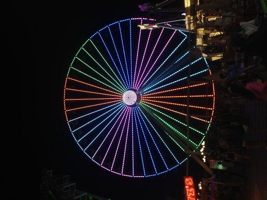 Wildwood Beach: Wildwood's huge Ferris Wheel