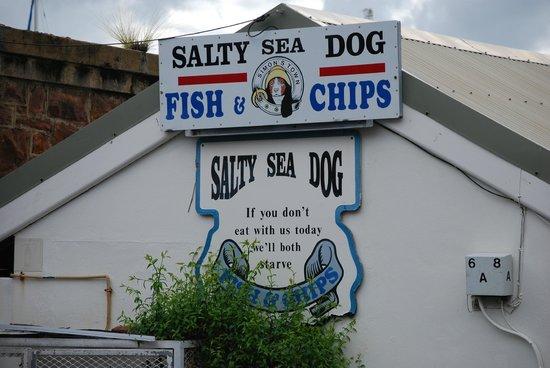 Salty Sea Dog: Entrance