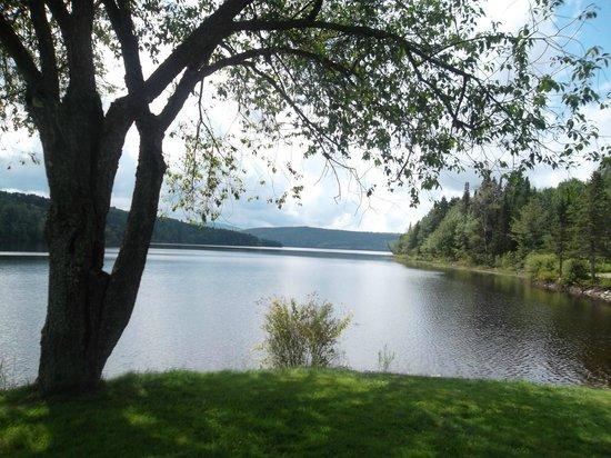 Pittsburg, NH: view of Lake Francis