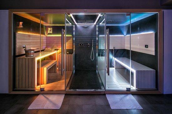 UmbriaVerde Sporting & Resort: sauna e bagnoturco