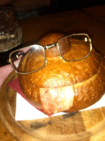 Hotel Eden: Mountain Soup wearing my spectacles