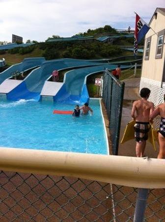 Уэстерли, Род Айленд: The smaller slides