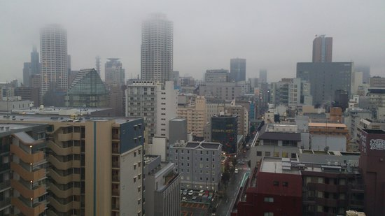 Kobe Sannomiya Union Hotel: 部屋からの眺め