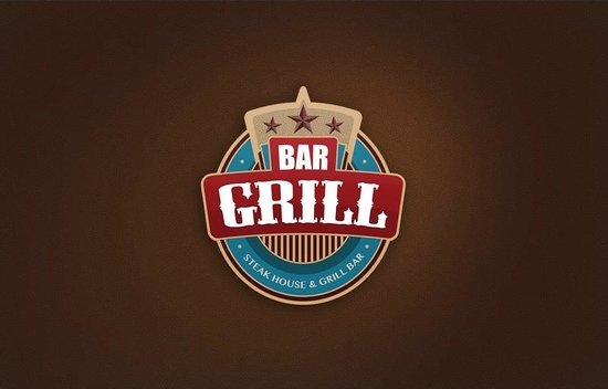 The grill bar: Corporate ID
