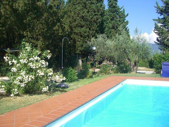 Casa Morgana: Zona piscina