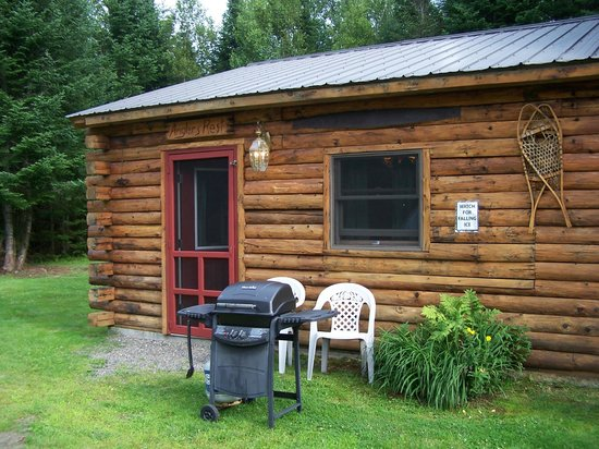 Bear Tree Cabins : view from outside