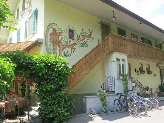 Teilansicht Restaurant Jägerheim in Belp