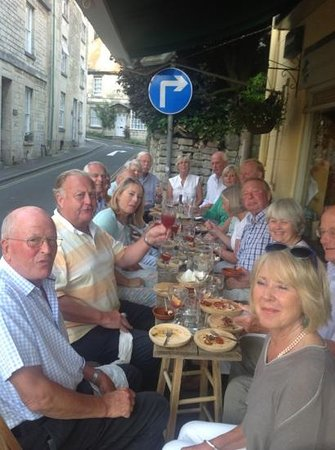 Painswick, UK: Yorkshire comes to the cotswolds TAPAS evening