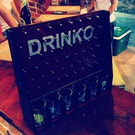 Oasis Bar & Restaurant : Drinking Games
