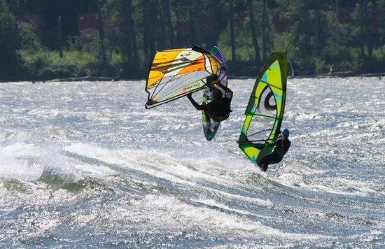 Big Winds: Windsurfing at the Hatchery