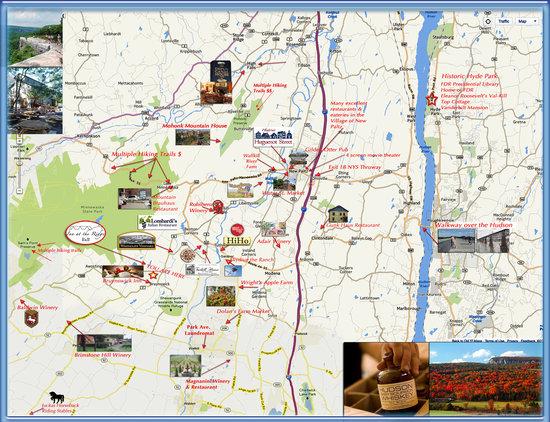 Inn At The Ridge: local map
